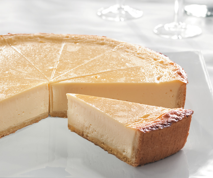 Cheesecake unsliced