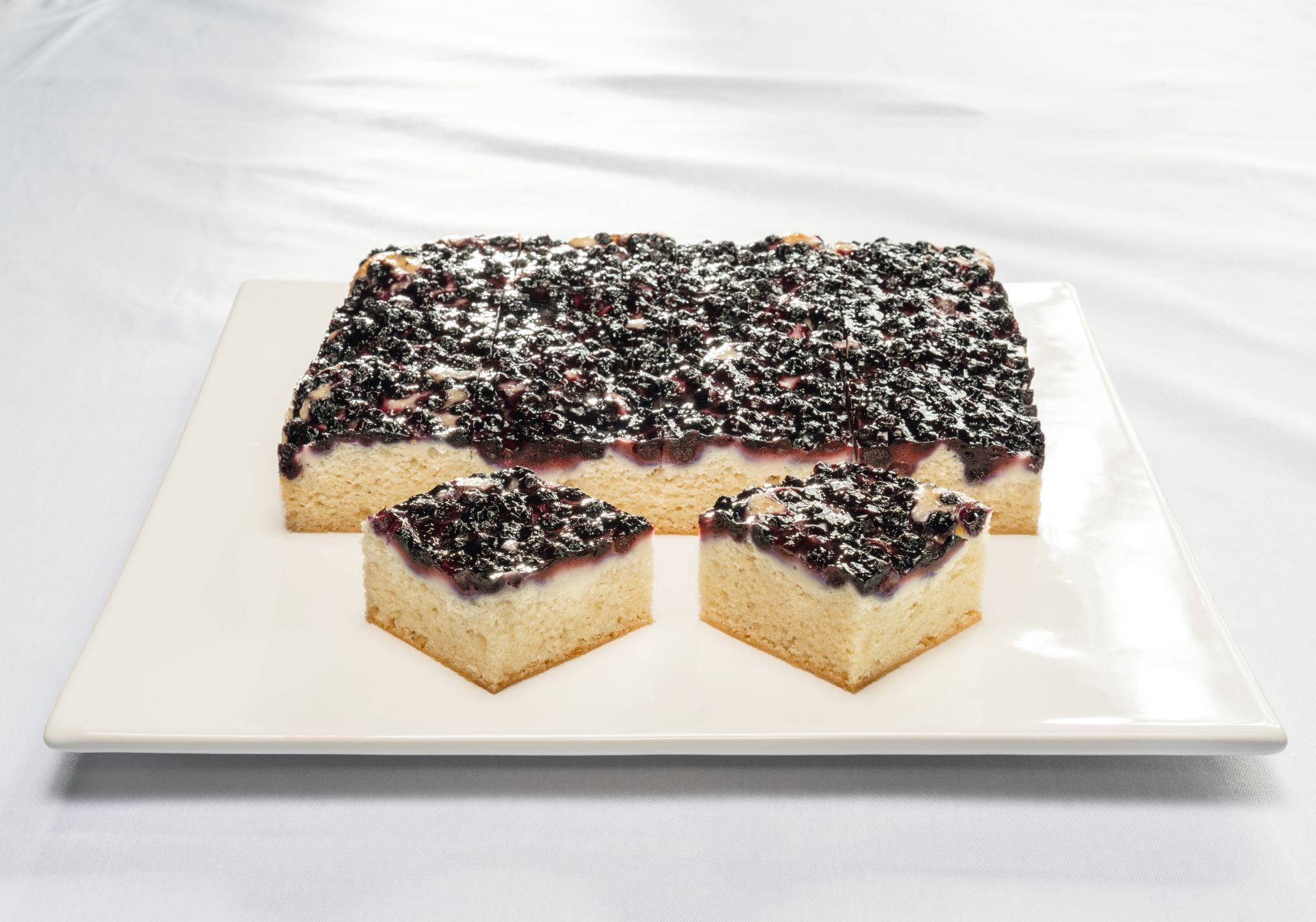 Blueberry and Lime Slice