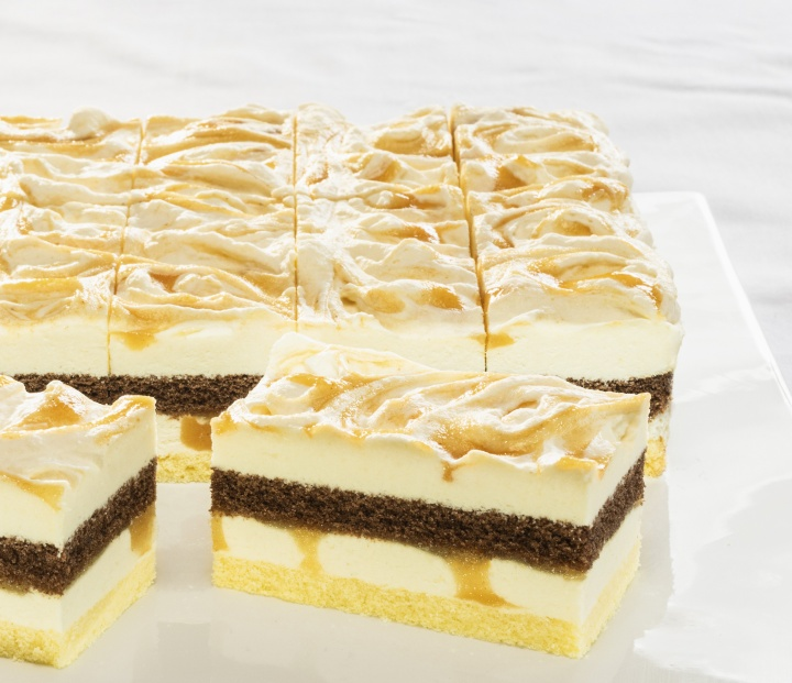 Apple-Quince Cream Slice